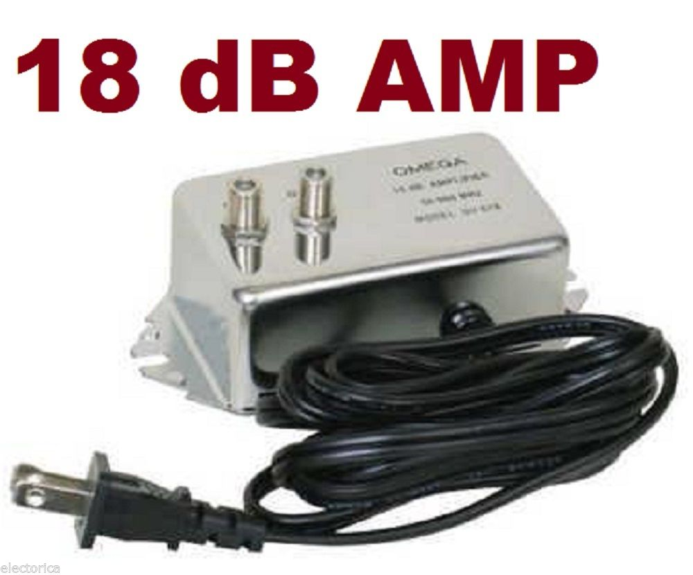 Hd Amplifier Inline Signal Booster Ota Antenna Cable Tv