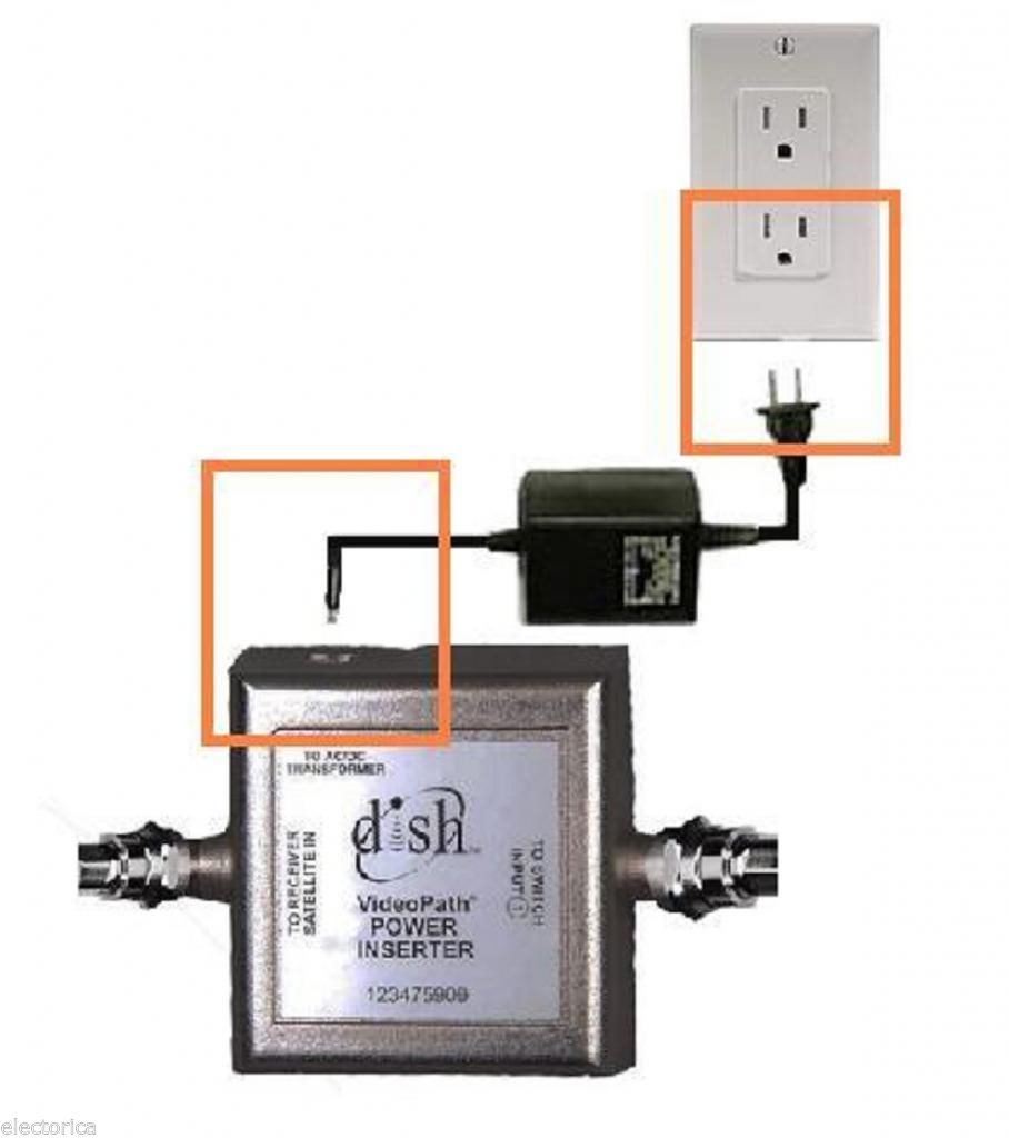 sw44 switch hookup Dpp separator splitter for bell express vu or dish network pro dp twin videopath / bell express-vu / dish netowork sw44 multi-dish switch with power inserter and.